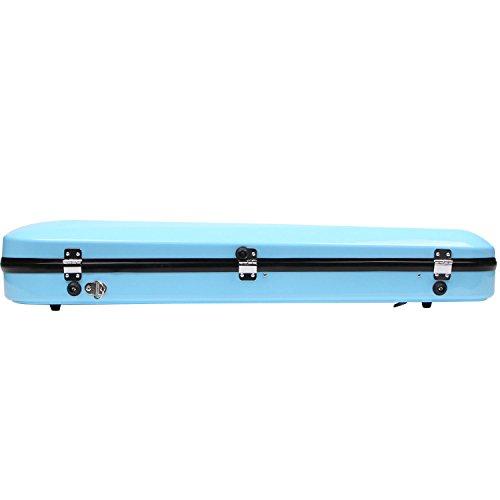 Fiberglass Violin Case Full Size (Sky Blue) by STRING HOUSE (Image #4)