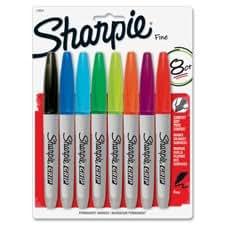 Sanford Sharpie Grip Markers