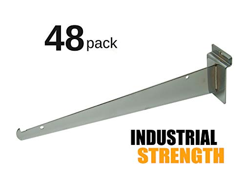 Top 10 recommendation slatwall chrome brackets for 2020