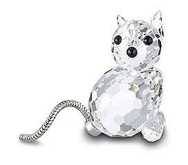 Swarovski - Figurine, Mini Cat Variation 1
