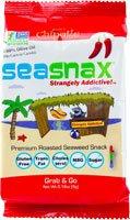 SeaSnax Grab & Go Seaweed Snacks Spicy Chipotle -- 0.18 oz