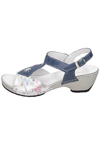 Comfortabel Donna-sandale Blau 710866-5 Blu