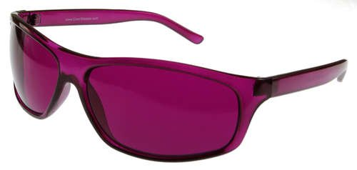 Magenta  Rose  Color Therapy Glasses  Pro Style  Available In Other Colors