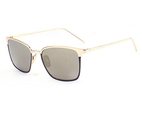 Heartisan Classic Flash Mirror Thin Full Frame UV400 Women's Sunglasses - Radar Lock Xl