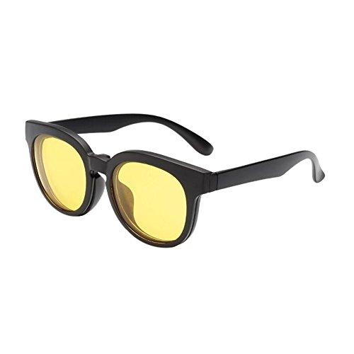soleil EyeLunettes Clip de TR90 Frame Yellow Polarisé on With Lentilles Magnet Lunettes UV400 Meijunter Set gRwqHvBEv