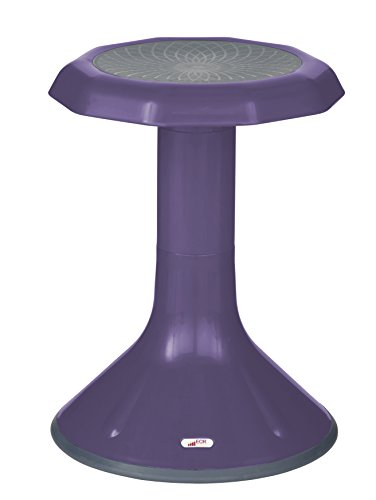 ECR4Kids ACE Active Core Engagement Stool for Kids, 18-Inch H - Eggplant by ECR4Kids