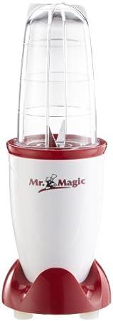 250 watts, rouge//blanc Magic Blender peu encombrant pour smoothies GOURMETmaxx Smoothiemaker Blender with To-Go cup Mr cocktails et sauces Lavable au lave-vaisselle