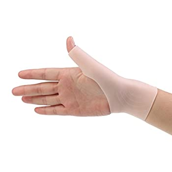 MonkeyJack 10Pairs Waterproof Silicone Gel Thumb Hand Wrist Support Gloves Pain Relief for Tenosynovitis Spasms Arthritis