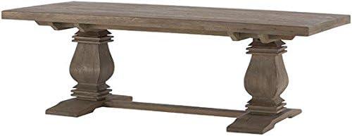 Home Decorators Collection Aldridge Coffee Table, 18Hx55Wx28 D, Antique Grey