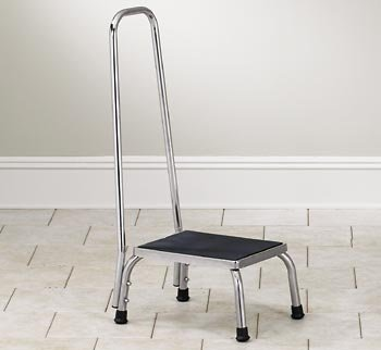 Stainless steel step stool with handrail & Amazon.com: Stainless steel step stool with handrail: Health ... islam-shia.org