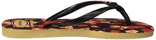 Cool Tongs ivory 0092 Havaianas Slim Multicolore Femme q7ORt