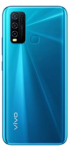 Vivo Y30 (Dazzle Blue, 4GB RAM, 128GB Storage) with No Cost EMI/Additional Exchange Offers Discounts Junction