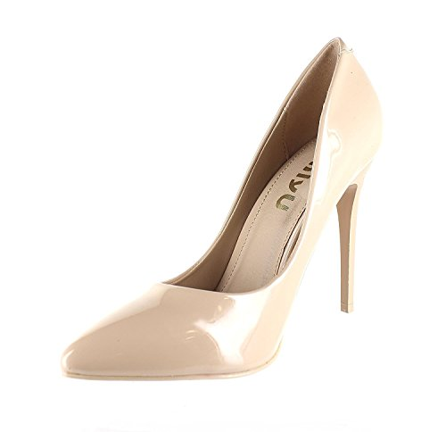 Women's Heels Material Pointed Cleo1 Suede toe Nude Pumps Patent Metalic Shoe Urban BdZw5Yqd