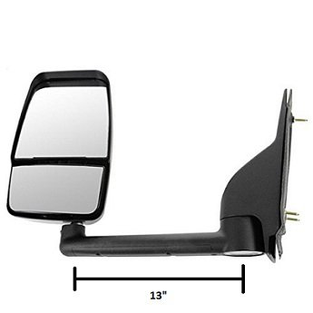 Velvac 714547 RV Mirror, Chevy G3500/Express & GMC Savana Vans and Cutaways-Driver Side
