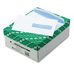 Health Form Gummed Security Envelope, #10, White, 500/Box