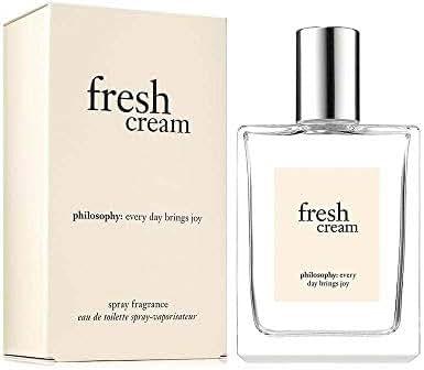 Philosophy Fresh Cream Eau De Toilette for Women, 2 Oz