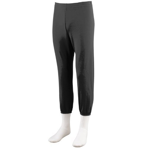 Black Youth Large Baseball/Softball Pull-up Pants