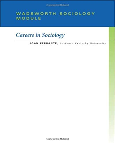 Custom Enrichment Module: Careers in Sociology Module
