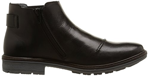 ... Rieker 31552 Herren Chelsea Boots Schwarz (schwarz/schwarz / 00)