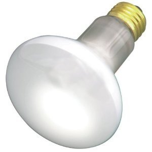 Satco 45R20 Incandescent Reflector, 45W E26 R20, Frosted Bulb [Pack of 12]