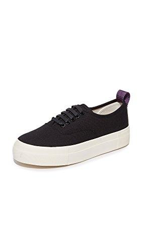 Eytys Moeder Canvas Sneakers Dames Zwart