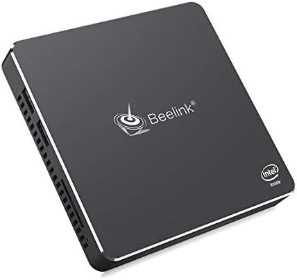 Beelink T34 Mini PC Windows 10 Pro Quad Core Intel N3450 Mini Desktop Computer 4K Dual HDMI Ports DDR4 8GB RAM 128GB SSD, 2.4G/5G WiFi, Gigabit Ethernet, USB 3.0, BT-4.0 Support Auto Power On