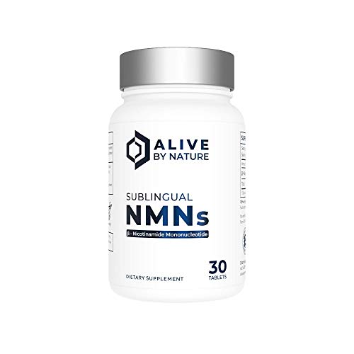 alivebynature Alivebynature Sublingual NMN - 30 Tablets - Nicotinamide Mononucleotide price tips cheap