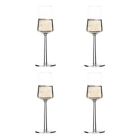 Iittala - Essence Champagne Flute, Set of 4 (Champagne Iittala Glass)