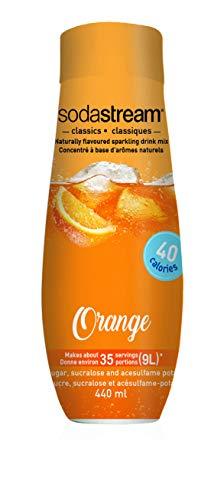 Orange Cream Flavor - SodaStream Orange Syrup, 14.8 Fluid Ounce