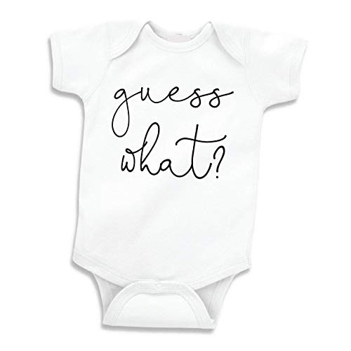 Surprise Pregnancy Announcement to Family Newborn Clothes (White 0-3 Months)