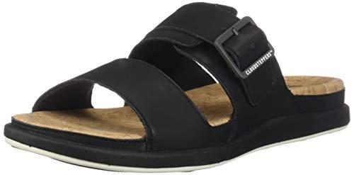 CLARKS Step June Tide Women's Sandal 9 B(M) US Black