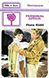 Front cover for the book Personal Affair by Flora Kidd