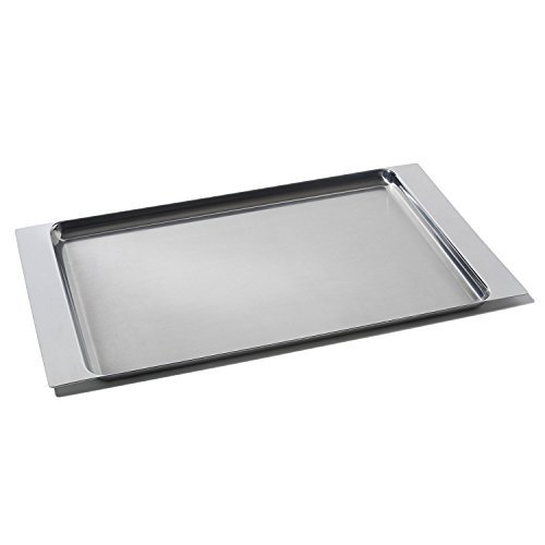 Alessi FS01 Stainless Steel Serving Tray, 9 X 17 3/4 by Alessi