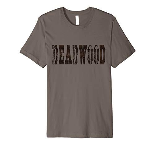 Deadwood Shirt Deadwood South Dakota Weathered Distressed