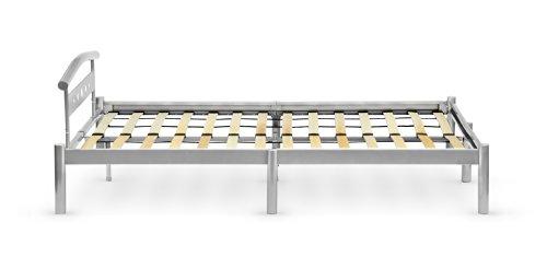 Lit Double Ultra Design Sultan C Metal 140x200 Cm Avec Sommier A
