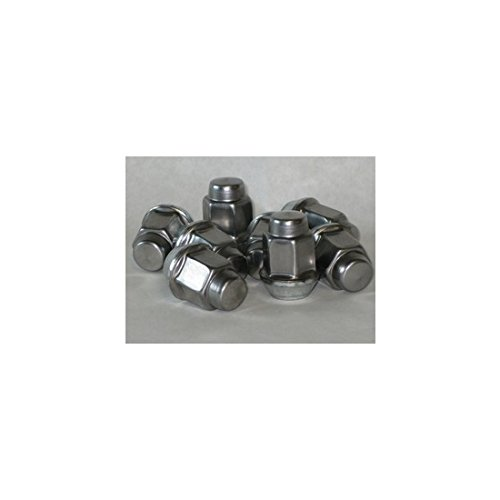 Mopar Nut - Mopar 6036747AA Dodge Dakota Jeep Liberty Wrangler Durango Grand Cherokee Ram Bag of 5 Chrome Cap Lug Nuts