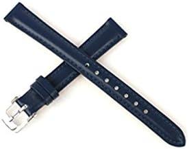 [バンビ]BAMBI 時計バンド 牛革 スコッチガード ホワイト 14mm BCM001WL