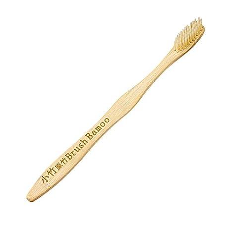 Cepillo de Dientes de Bambú Natural Ultra Suave Cepillo Mango de Cepillo De Madera Cuidado Oral Blanqueamiento Que Blanquea Los Dientes Cepillo Para Familia ...