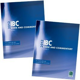 2012 IBC® Code and Commentary Combo, Vol. 1 & 2