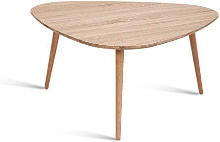Krijgen Woonkamertafel, driehoekige bijzettafel, salontafel met massieve grenenpoten Nature Color Nesting bijzettafel 12.16 (grootte: 60 * 40cm)  rGQHYep