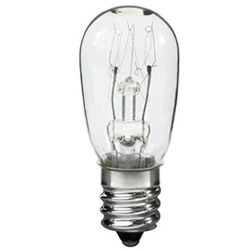 Dryer Light Bulb for Sears Kenmore 3406124, 22002263-10 Watt 120v (Kenmore Dryer Light Bulb)