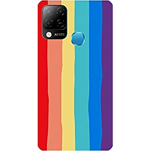 Amagav Soft Silicone Printed Mobile Back Cover for Infinix Hot 10S -Design156