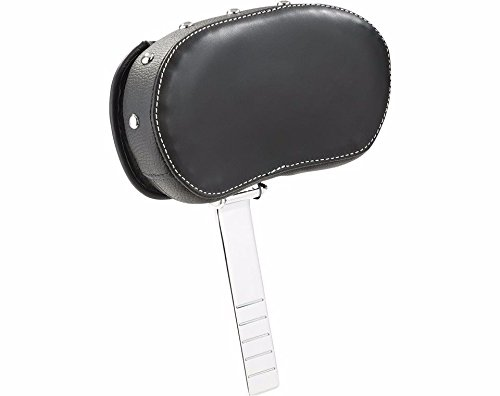INDIAN GENUINE LEATHER DELUXE DRIVER BACKREST PAD ONLY BLACK 2879542-02