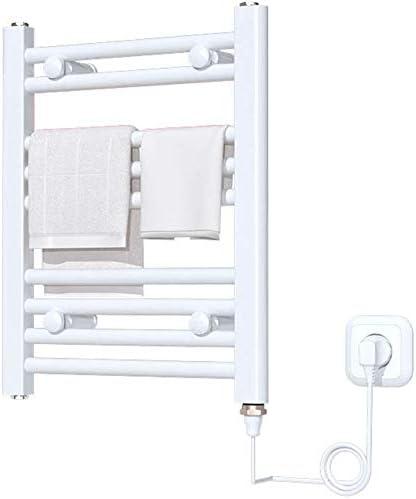 GJJSZ Toallero eléctrico Toallero termostático Ropa de baño Estante de Secado Radiador 150w
