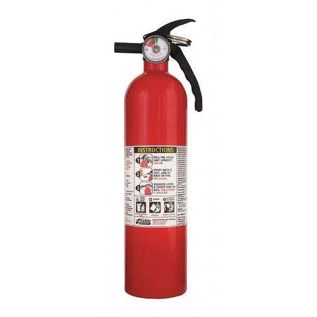 Monoammonium Phosphate Fire Extinguisher - Fire Extinguisher, 1A:10B:C, Dry Chemical, 2-1/2 lb.