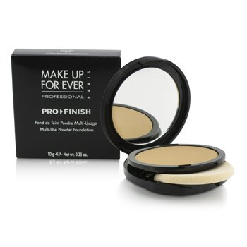 (Pro Finish Multi Use Powder Foundation - # 163 Neutral Camel 10g/0.35oz)