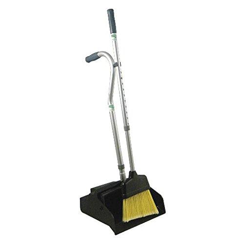 Telescopic Dust Pan with Broom, Plastic
