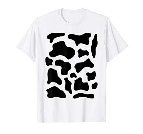 Cow Costume T-Shirt Funny Cute Animal Funny Halloween Shirt]()