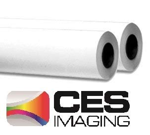 2 Rolls 24'' X 500' (24 Inch X 500 Foot) 20lb Bond Plotter Paper with 3'' Core. Product From CES Imaging for Use in KIP, OCE, HP, Canon, Xerox, and Ricoh Wide-format Copiers and Printers.