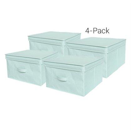 - TUSK Jumbo Storage Box 4-Pack - Mint